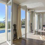 Villa La Londe Les Maures - woonkamer-uitzicht naar buiten