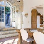 Villa Flayosc - eetkamer