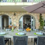 Villa Grasse - terras