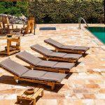 Villa La Villa - ligbedden-zwembad