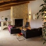 Villa Les Dentelles - woonkamer