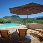 Villa Les Dentelles - zwembad-omgeving