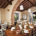 Villa Montepulciano - eetkamer