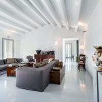 Villa Ragusa zee - woonkamer