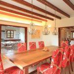 Villa Son Ferragut De Baix - eetkamer