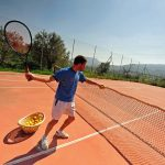 Villa Manodiana - tennisbaan