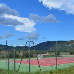 Villa Sault - tennisbaan