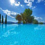Villa Vicchio - zwembad-omgeving