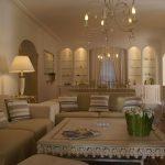 Villa Mouans-Sartoux - woonkamer