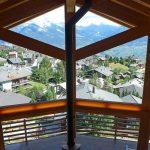 Chalet Aquarius - balkon
