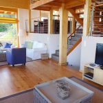 Chalet Aquarius - woonkamer-tv
