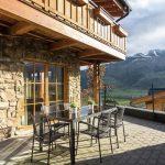 Chalet Erlebnishaus - balkon-terras