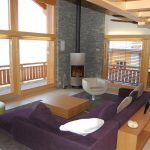 Chalet Les Roches - woonkamer