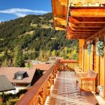 Chalet Petit Roc - balkon