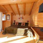 Chalet Petit Roc - slaapkamer 2 persoonsbed