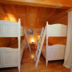 Chalet Petit Roc - slaapkamer stapelbed