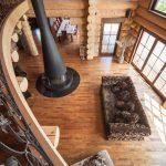 Chalet Wooden Residence - balkon binnen
