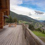 Chalet Wooden Residence - balkon-terras