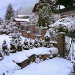 Chalet Wooden Residence - exterieur winter