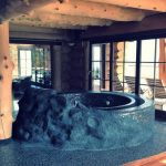 Chalet Wooden Residence - jacuzzi