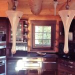 Chalet Wooden Residence - keuken