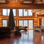 Chalet Wooden Residence - woonkamer