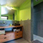 Vakantiehuis A l'Ombre du Pin - badkamer