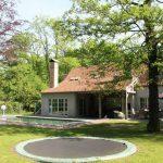 Vakantiehuis Brugge en Gent - trampoline