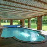 Vakantiehuis Chateau de luxe - binnenzwembad