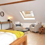 Vakantiehuis Le Gite du Chien Vert - slaapkamer zitje