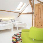 Vakantiehuis Le Gite du Chien Vert - slaapkamer