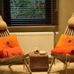 Vakantiehuis Le Gite du Chien Vert - zitje saunaruimte