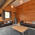 Vakantiehuis Le Lodge des Bruyeres - woonkamer
