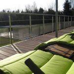 Vakantiehuis Le Lodge du Lac - balkon
