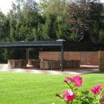 Vakantiehuis Le Lodge du Lac - terras