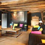 Vakantiehuis Le Pasc Anne - woonkamer