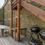 Vakantiehuis Le Vieux Moulin - terras-balkon