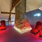 Vakantiehuis Les Narcisses - relaxruimte