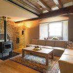 Vakantiehuis Les Narcisses - woonkamer