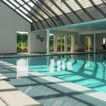 Vakantiehuis Oppidum - zwembad-glijbaan