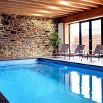 Vakantiehuis Pays des Sources - binnenzwembad