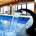 Vakantiehuis Pays des Sources - zwembad