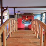 Vakantiehuis Shogun - brug naar hemelbed