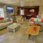 Vakantiehuis The Wood-Stone Cottage - woonkamer