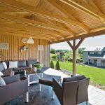 Vakantiehuis Villa Houmont - patio
