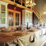Villa Perle d'Achouffe - eetkamer