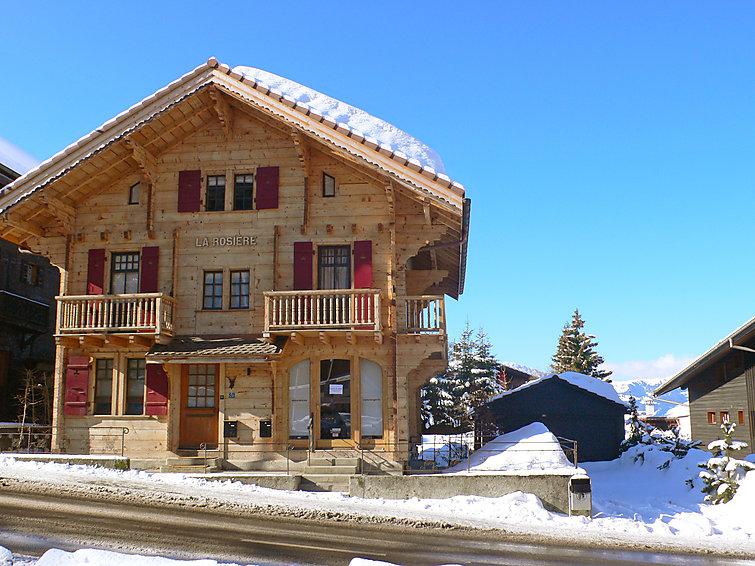 Chalet La Rosière - chalet winter