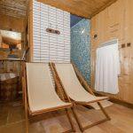 Chalet Le Cairn - douche-sauna