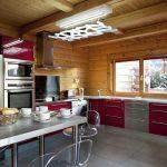 Chalet Mont Soleil - keuken