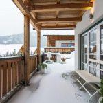 Chalet Schneeweiss - balkon